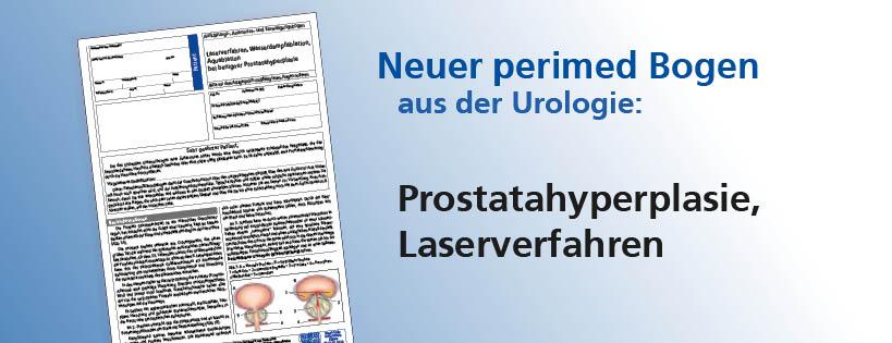 Prostatahyperplasie, Laserverfahren, Wasserdampfablation, Aquablation